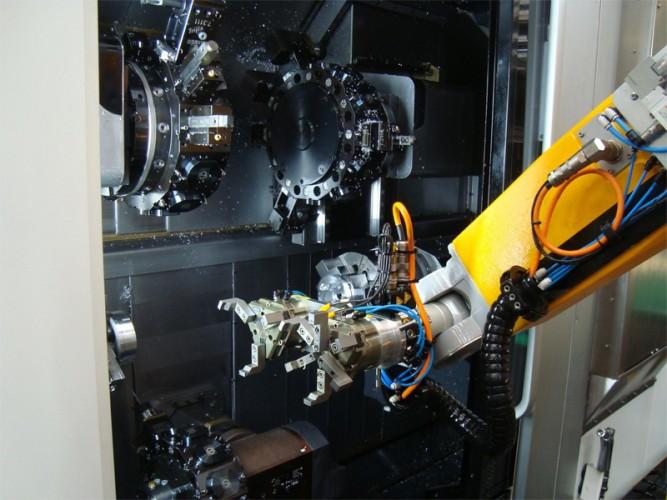 Calpeda robot giranti